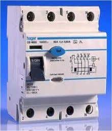 of RCD  No .of poles : Since neutral is compulsory in RCD we have 1.