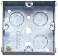  octagonal JB  back bax : are used for s/o flex outlet etc  adapter