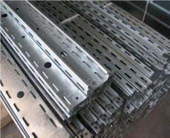 Materials of cable tray: 1. No PVC 2. Metallic (a) Galvanized cable tray (b) Hot dip