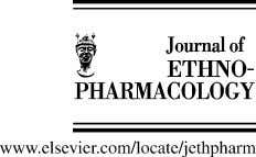 Journal of Ethnopharmacology 99 (2005) 309–312 Short communication Antibacterial screening of some Peruvian medicinal