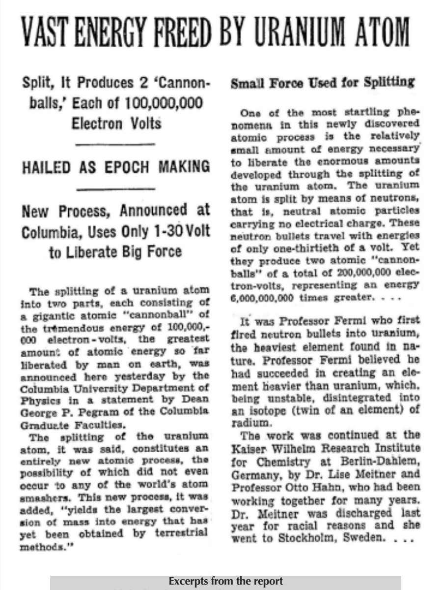 TheNewYorkTimes January 31, 1939 Excerpts from the report published in the NewYorkTimes on January 31, 1939