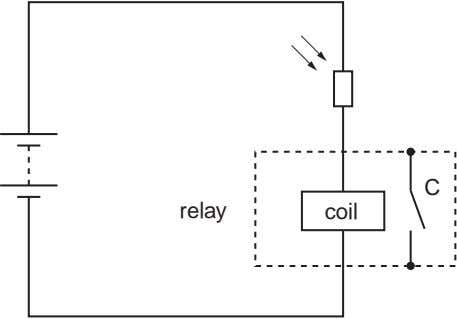 LDR C relay coil
