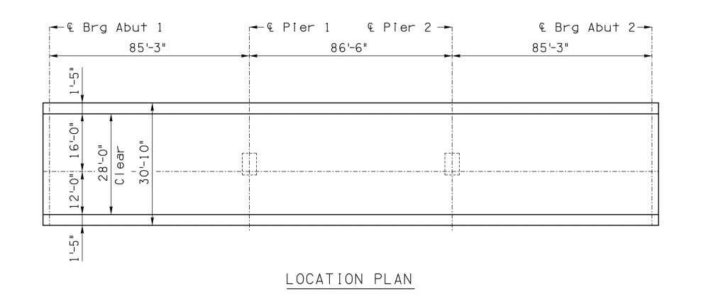 LRFD Substructure Example 3 Hammerhead Pier on Spread Footing Figure 1 Figure 2 2