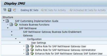 Installing Gateway 1.0 Pilot 6. In the Role field, enter SAP_BC_BASIS_ADMIN . Click on Copy Role.