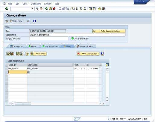 Installing Gateway 1.0 Pilot 15. Click on User Comparison. Then click on Complete Comparison on the