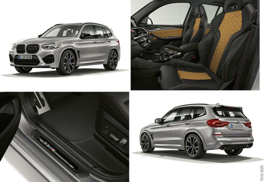 Vehicle 1. Introduction 1.2. F97 vehicle profile F97, BMW X3 M Competition • Design and