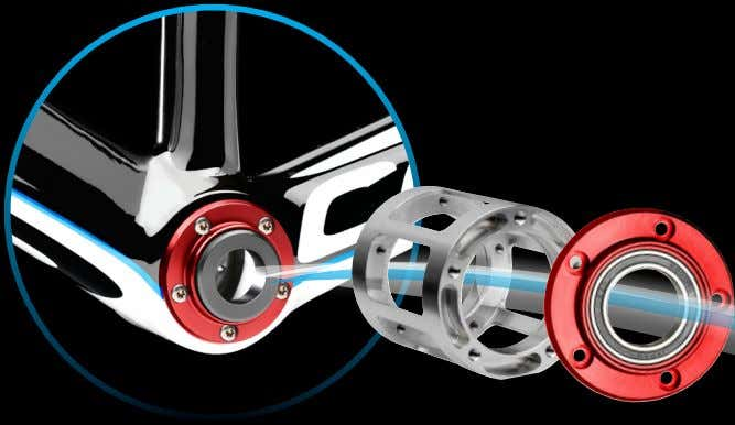 TRETLAGERSYSTEM UBBS THE PERFECT BOTTOM BRACKET SYSTEM UNIVERSAL BOTTOM BRACKET SYSTEM Das einzigartige UBBS