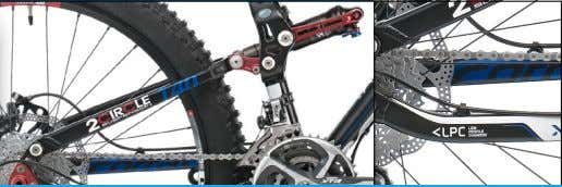 geringem Gewicht. anoveralllightweightall-mountain frame. X-FORCE 0.1 Frame X-Force, 140 mm Travel - 2CIRCLE