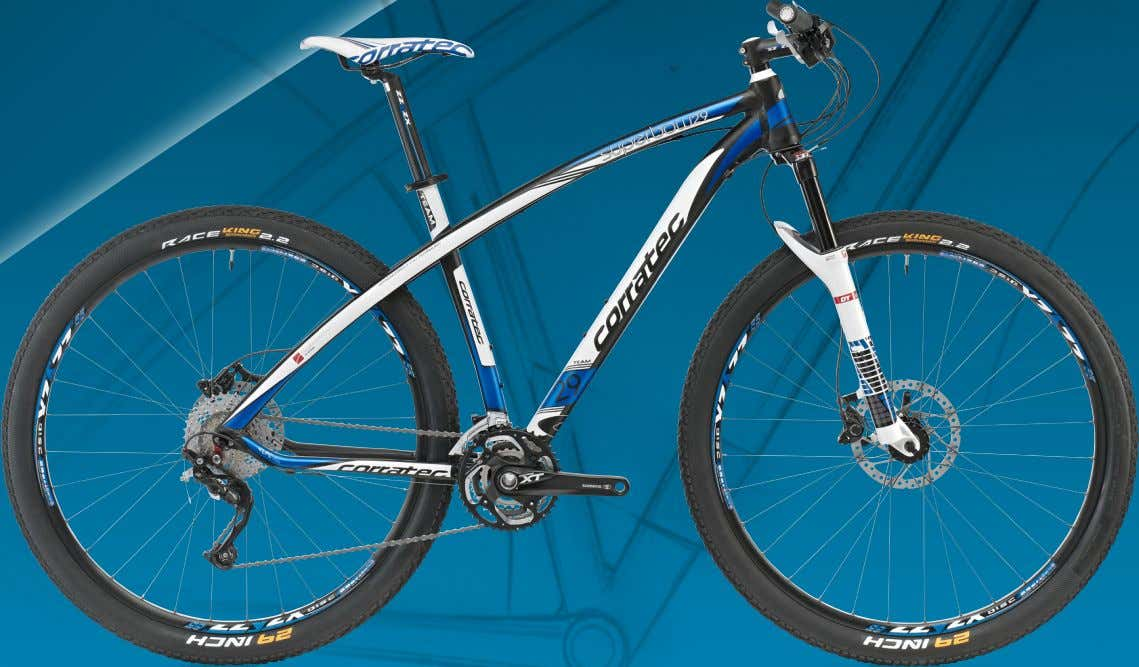 STIFF CROSS-COUNTRY AND RACE HARDTAIL IN BOW DESIGN BIOMETRIC BOW DESIGN C-29ER LPC