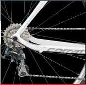 andstillnochainbanging!Especially for compact-drive. I II CORONES MISS C.ULTEGRA Frame Superlight Alloy 6061,