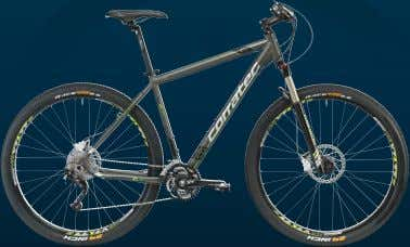 C-29ERCROSS THE PERFECT FUSION OF TREKKING AND MOUNTAIN BIKE C-29ER Perfekte Traktion, leichteres