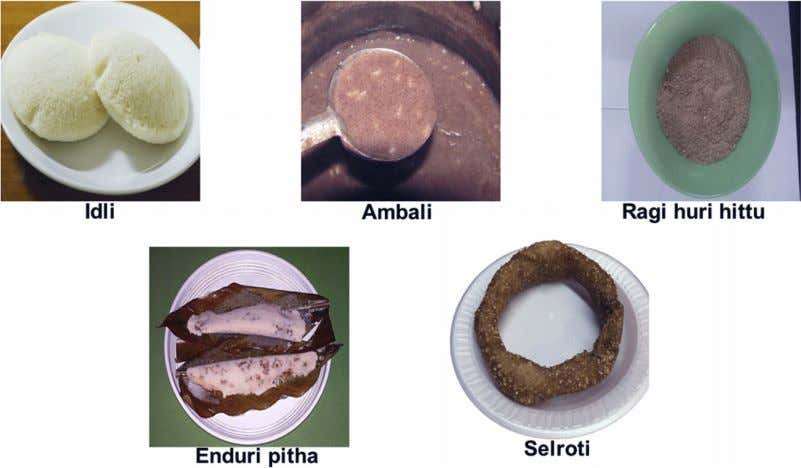 et al / Traditional and ayurvedic foods of Indian 99 Fig. 1. Grain-based traditional health foods.