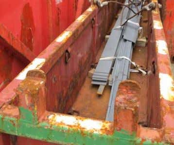 which snag on other cargo or snag on the structure of the vessel itself (commonly safe