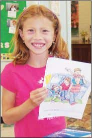 Sponsored by the Sisters of St. Francis of Sylvania, Ohio Sierra, 10, took first place for
