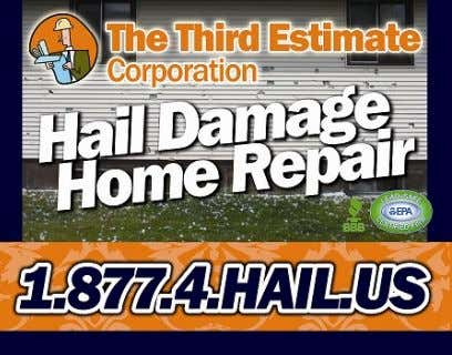 """ "" WE WE KNOW KNOW HAIL HAIL DAMAGE DAMAGE "" "" www.TheThirdEstimate.com Reasons why customers"