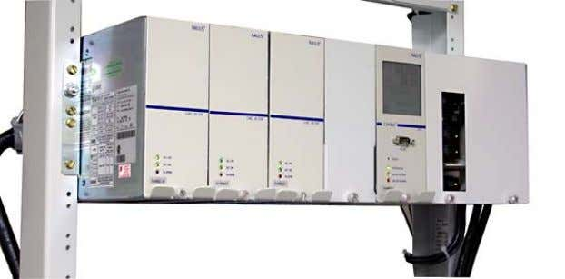 48-1kW System 030-704-20  Integrated 48VDC Power System o 4 CXRC 1kW o 1 CXCM o