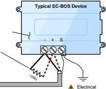 Typical EC-BOS Device - + S Electrical