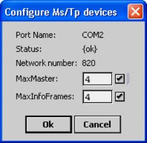 BACnet MS/TP Communication Bus Fundamentals Figure 2-14: Setting the Max Master on the Bus Master (EC-BOS)