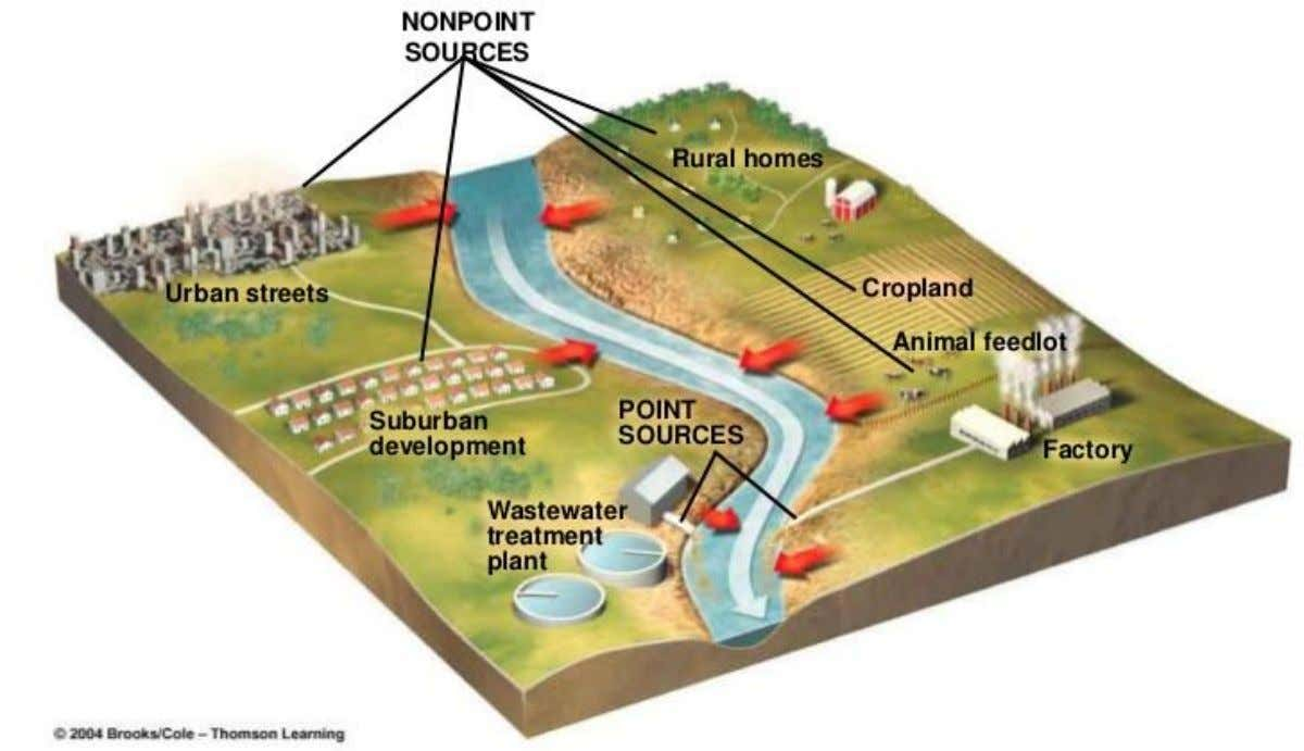 Point and Non-Point Sources of Water Pollution