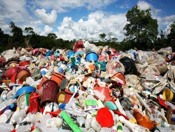 wooded materials etc., and many non- biodegradable materials like plastic bags, plastic bottles, glass bottles etc.