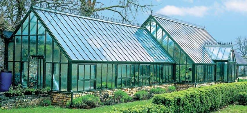 Gardener's Greenhouse Made up of Glass windows Earth's Greenhouse Made up of Greenhouse Gases