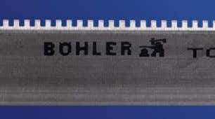 BÖHLER SPECIAL RULES PERFORATING RULES BÖHLER perforating rules are available in a wide range of various