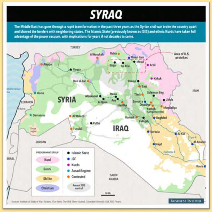 remains the key tool in both wars for the CIA/Zionists. SYRAQ – New expanded battlefield for