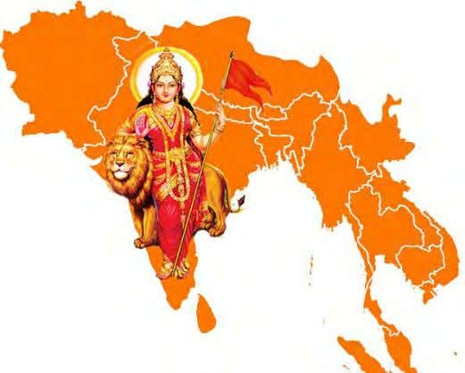 state in the collective psyche of the Hindu Zionists. Greater India plan – creating a Hindu