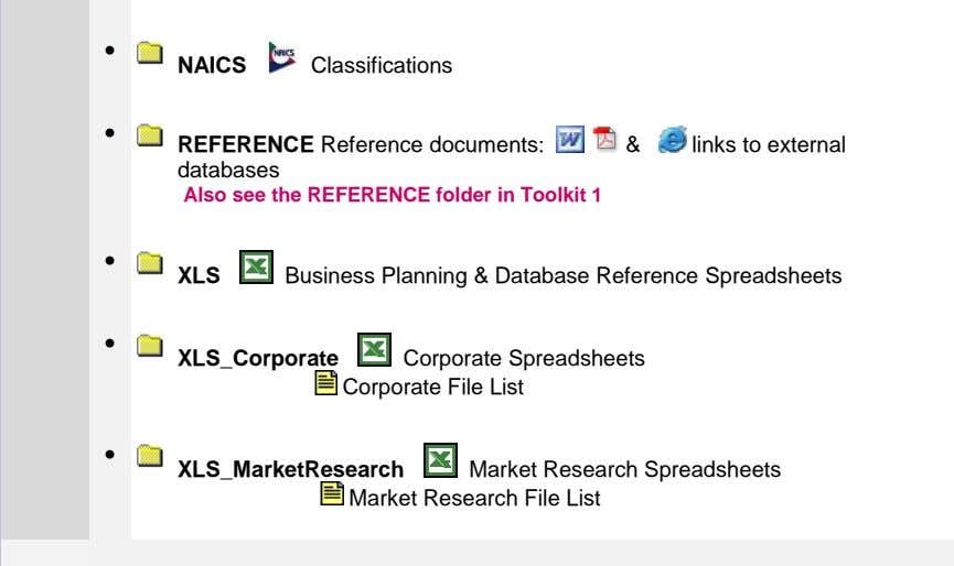 Business Planning & Database Reference Spreadsheets Market Research File List Market Research Spreadsheets XLS_MarketResearch  Corporate