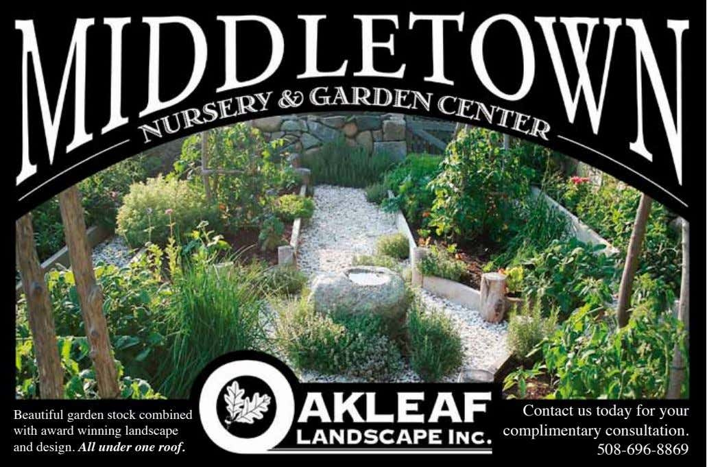 Beautiful garden stock combined with award winning landscape and design. All under one roof. Contact