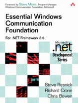 applications that utilize REST and WS-*. RECOMMENDED BOOK Essential Windows Communication Foundation For .NET