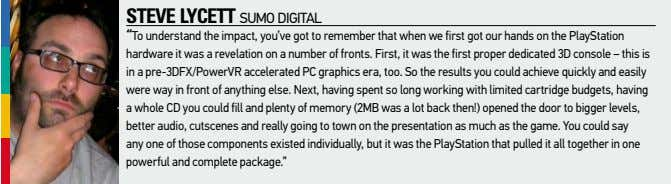 "steve lycett Sumo digital ""to understand the impact, you've got to remember that when we"
