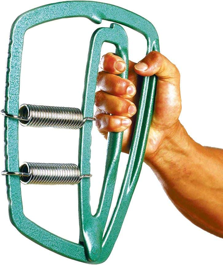 to match your thick, beefy upper arms—and now they will. Super Gripper $29.95 *PLUS SHIPPING &