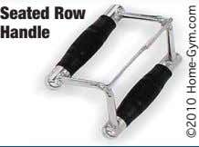 Seated Row Handle ©2010 Home-Gym.com