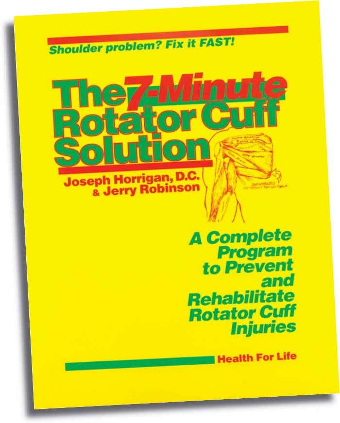 Build Incredible Pressing Power and Bulletproof Shoulders 7-Minute Rotator Cuff Solution $29.95 *PLUS SHIPPING &