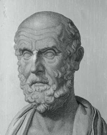 Movement System and the practice of manual therapy began Figure 1-1 Hippocrates of Cos (c. 460