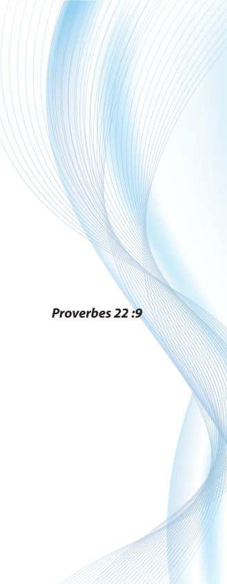 Proverbes 22 :9