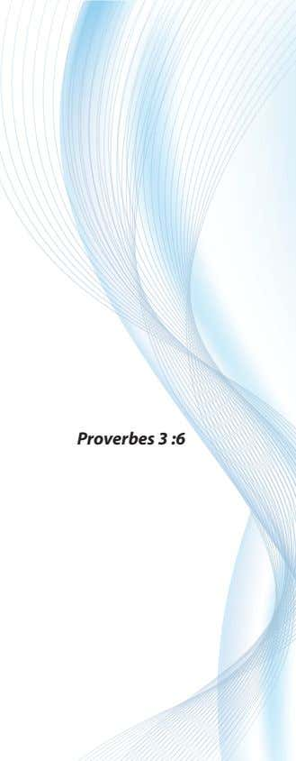 Proverbes 3 :6