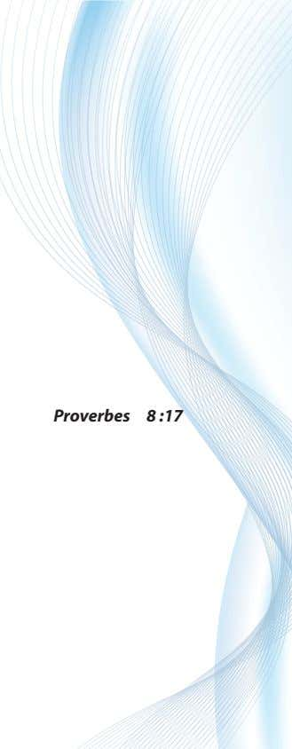Proverbes 8 :17