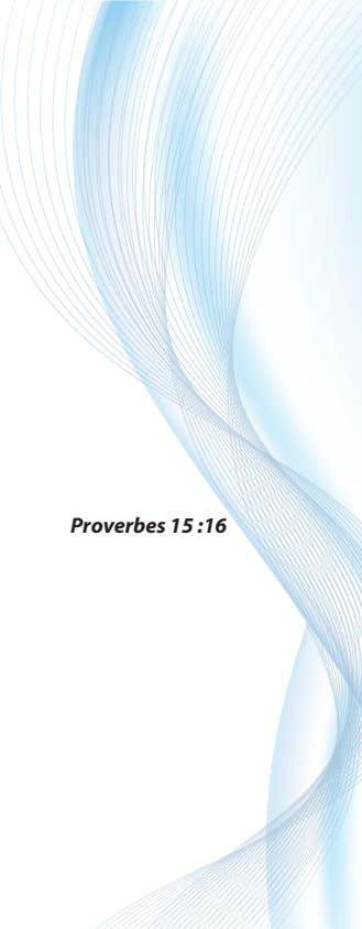 Proverbes 15 :16