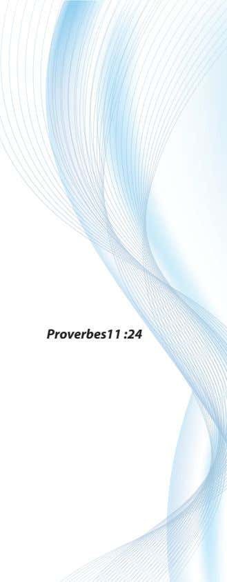 Proverbes11 :24