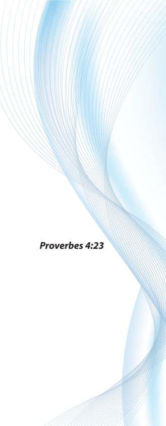 Proverbes 4:23