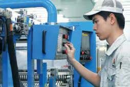 our own portfolio of filtration solutions for indoor air and Apollo China Worker in the Factory