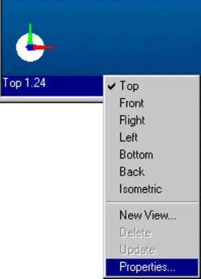 right click on the view status bar and select Properties . On the Properties dialog, choose