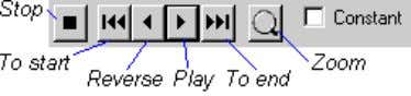 list. Control the simulation using these buttons: You can control the speed of the simulation by
