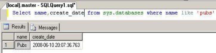 You can query sys.databases catalog view to check the same. Considerations:  You cannot move system