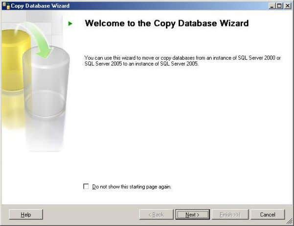  Click on next to proceed with wizard, In this screen you need to provide
