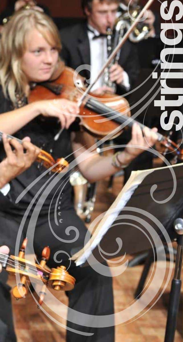www.music.umich.edu 6 7 Degrees offered: Bachelor of Music (BM) in Performance Bachelor of Music in Performance