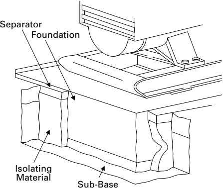 Separator Foundation Isolating Material Sub-Base