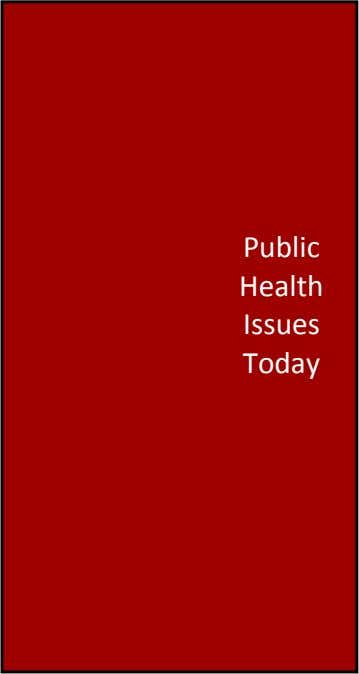 Public Health Issues Today Volume 1, Issue 1 Fall 2011 Public Health System of the United